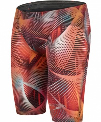Speedo LZR Racer Elite 2 Jammer Lava Red/Electric Pink