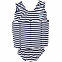 Splash About Floatsuit Navy White Stripes
