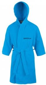Speedo Bathrobe Microterry Junior Japan Blue