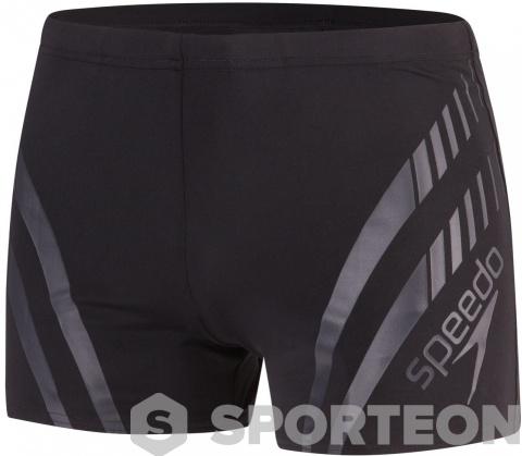 Speedo Sport Panel Aquashort Black/Oxid Grey