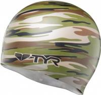 Tyr Camo Swim Cap