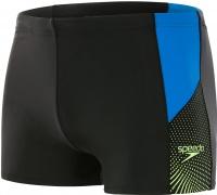 Speedo Dive Aquashort Black/Brilliant Blue/Bright Zest