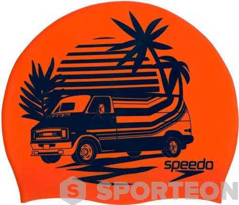Úszósapka Speedo Slogan Print Cap