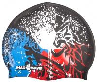 Úszósapka Mad Wave Czech Silicone