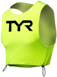 Tyr Hi-Vis Open Water Pinnie Fluo Yellow