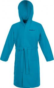 Speedo Bathrobe Microfiber Blue Turquoise