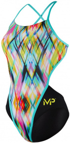 Michael Phelps Candy Open Back Multicolor/Black