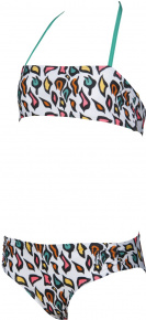 Arena Fantasy Bandeau Junior White/Multi