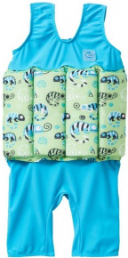 Splash About Short John Float Suit Green Gecko