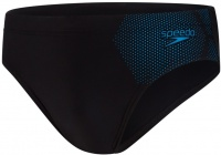 Speedo Tech Placement 7cm Brief Black/Pool