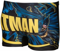 Arena Batman Placed Print Short Junior Black/Multi