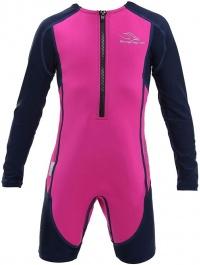 Aqua Sphere Stingray HP Long Sleeve Kids Pink/Navy