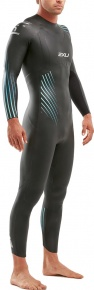 2XU P:1 Propel Wetsuit Black/Blue Ombre