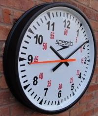 Swimaholic Dual Purpose Clock Cased Round 700mm