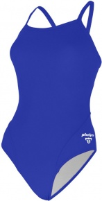 Michael Phelps Solid Mid Back Royal Blue