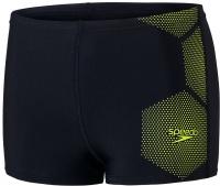 Speedo Tech Placement Aquashort Boy True Navy/Fluo Yellow