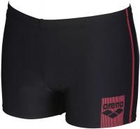 Arena Basics Short Black/Fluo Red