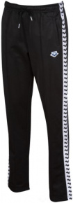 Arena W Straight Team Pant Black/White