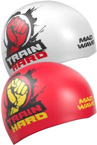 Mad Wave Train Hard Reversible Swim Cap