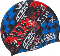Mad Wave Race Swim Cap